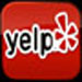 Yelp Website Button